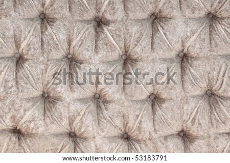 Rag upholstery of a magnificent sofa - stock photo