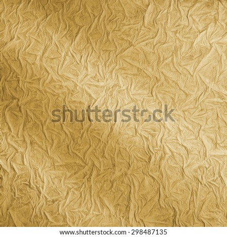 Ragged pattern texture in beige color with a light effect - stock photo