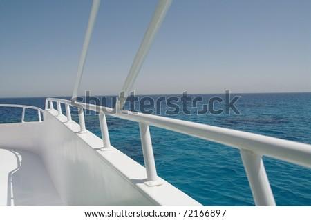 Railing - stock photo