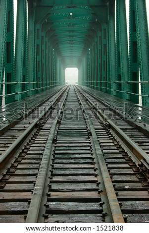 Railroad Bridge - stock photo