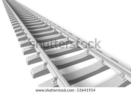 Railroad concept - stock photo