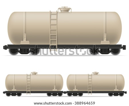railway carriage train illustration isolated on white background