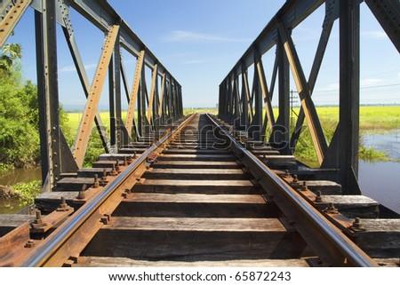 Railway Thai - stock photo