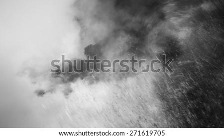 rain cloud background - stock photo
