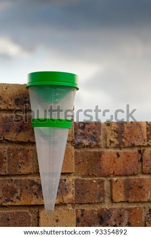Rain Meter - stock photo