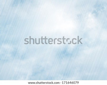 rain storm backgrounds in cloudy weather - stock photo