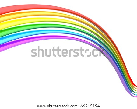 rainbow - stock photo