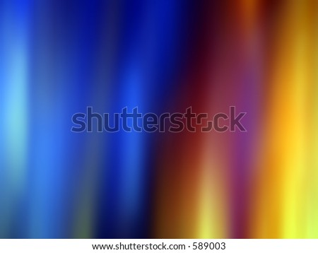 Rainbow Abstract - stock photo