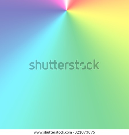 Rainbow abstract background - stock photo