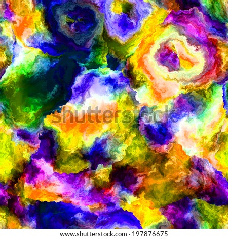 Rainbow abstract background in a variety of vivid colors. - stock photo
