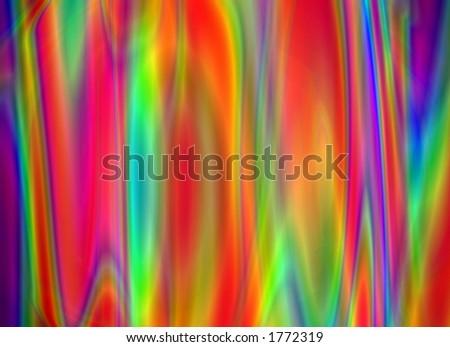 rainbow background - stock photo