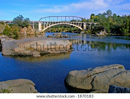 Rainbow Bridge - stock photo