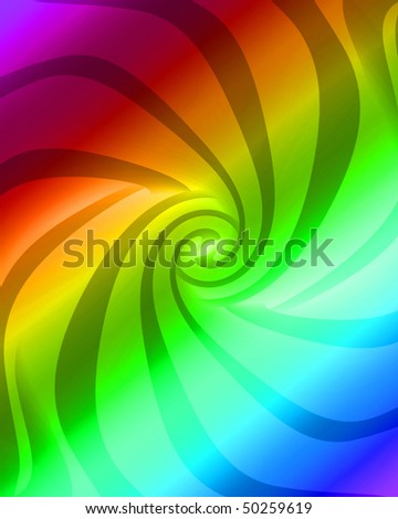 rainbow colored background with a swirl in it
