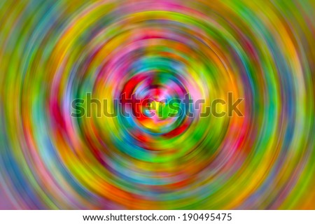 Rainbow Confetti Abstract Swirl Background Texture - stock photo