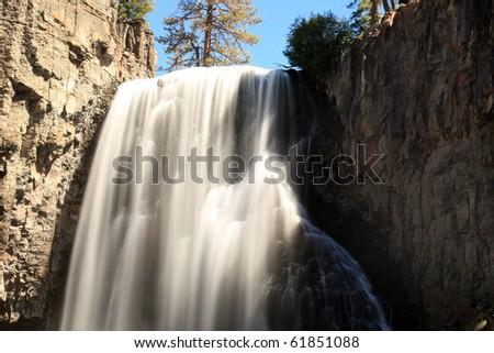 Rainbow Falls - stock photo