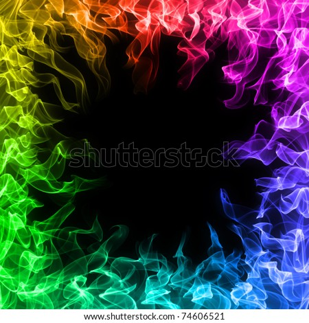 rainbow fire background - photo #15