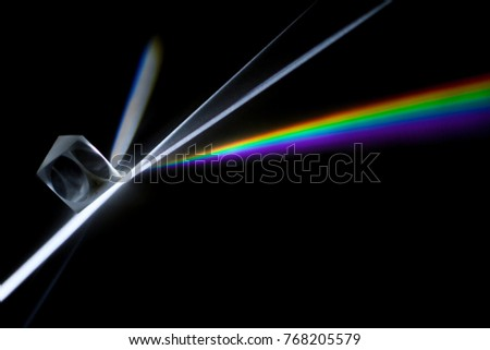 Rainbow light diffraction