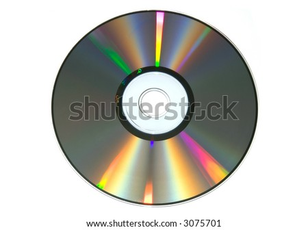 rainbow on the CD