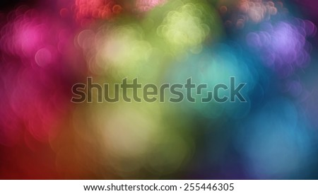 Rainbow out of focus abstract background - stock photo