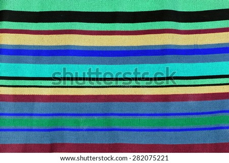 rainbow  striped fabric texture