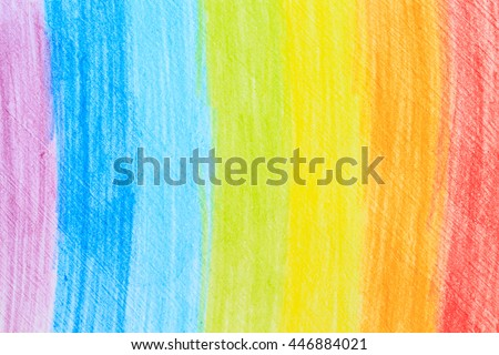 rainbow stroke pencil drawing sketch abstract art.