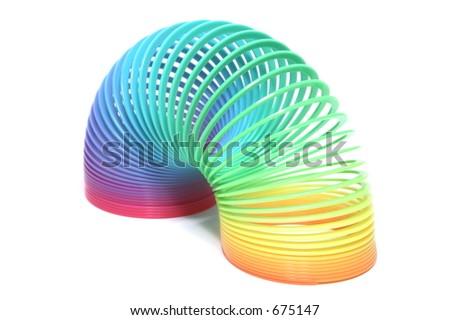 Rainbow Toy - stock photo