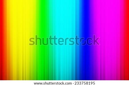 Rainbow vivid rays background template - stock photo