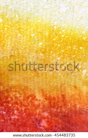 Rainbow Watercolour Background 7