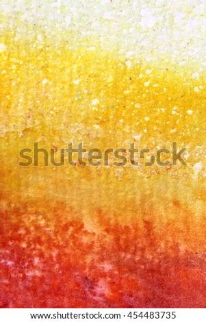 Rainbow Watercolour Background 7 - stock photo