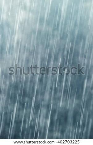 Raining - stock photo