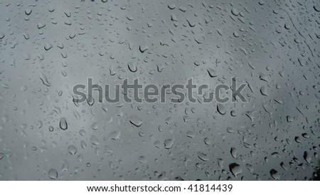 Rainy Day - stock photo