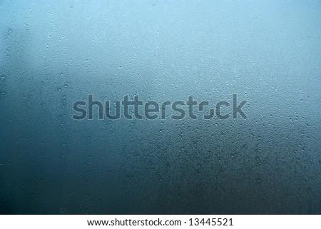 rainy window - stock photo