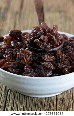 raisins. - stock photo