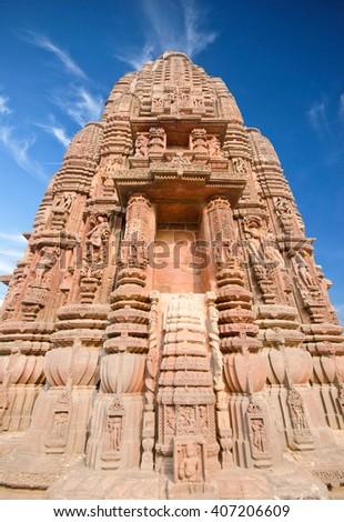 Rajarani Temple, Bhubaneswar, Orissa, India - stock photo