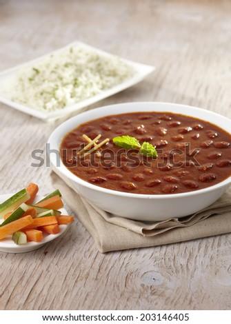 Rajma Masala curry ,Indian food, India - stock photo