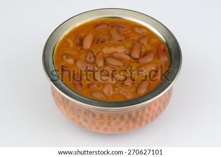 Rajma Masala with gravy - stock photo