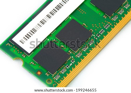 RAM for computer - stock photo