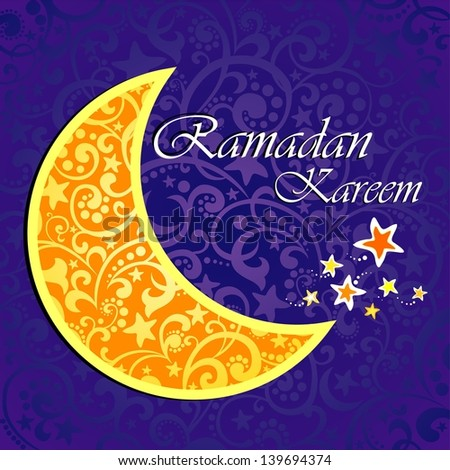 Ramadan greetings arabic script islamic greeting stock illustration ramadan greetings in arabic script an islamic greeting card for holy month of ramadan kareem m4hsunfo
