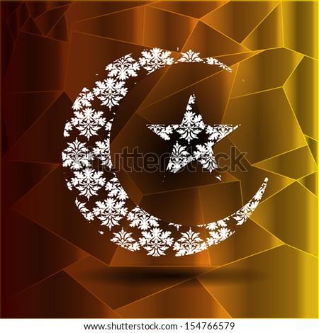 Ramadan Kareem background - stock photo