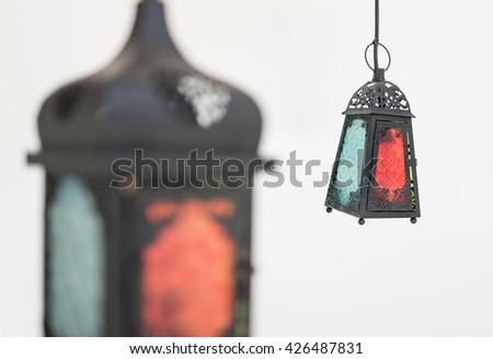 ramadan lantern  - stock photo
