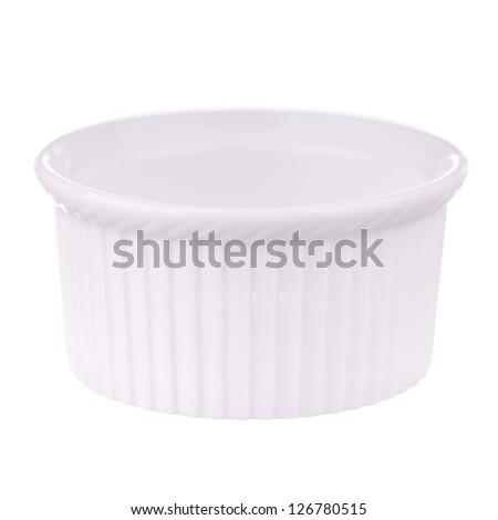 Ramekin Bowl; Unsharpened file - stock photo