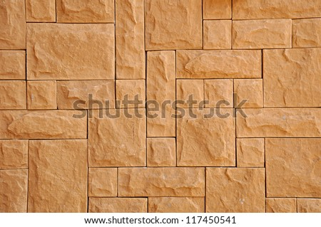 Random rectangular stone background