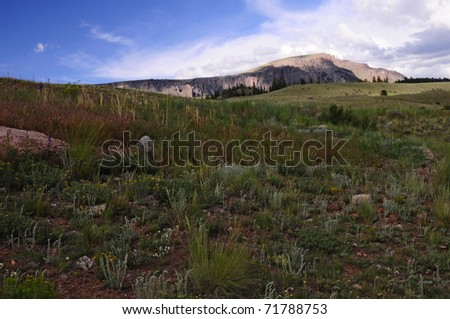 Range in Distance - stock photo