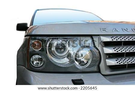 Range Rover light - stock photo