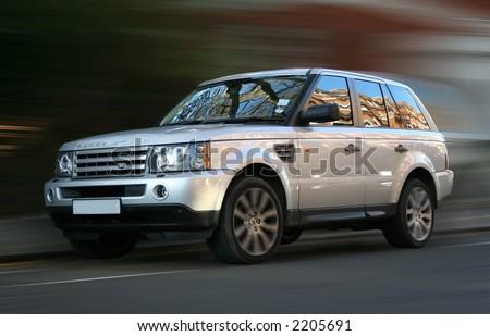 Range Rover Rapid - stock photo