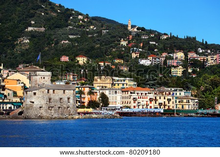 Rapallo Resort on the Italian Riviera, Europe