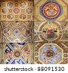 Raphael Rooms (Stanze di Raffaello), Vatican, Rome, Italy - stock photo
