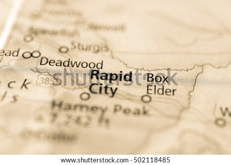 Rapid City, South Dakota, USA.