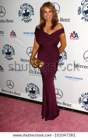 Raquel Welch  at the 32nd Anniversary Carousel Of Hope Ball, Beverly Hilton Hotel, Beverly Hills, CA. 10-23-10