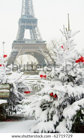 Christmas In Paris Stock Images, Royalty-Free Images & Vectors ...